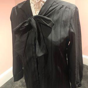 Vintage bow tie top